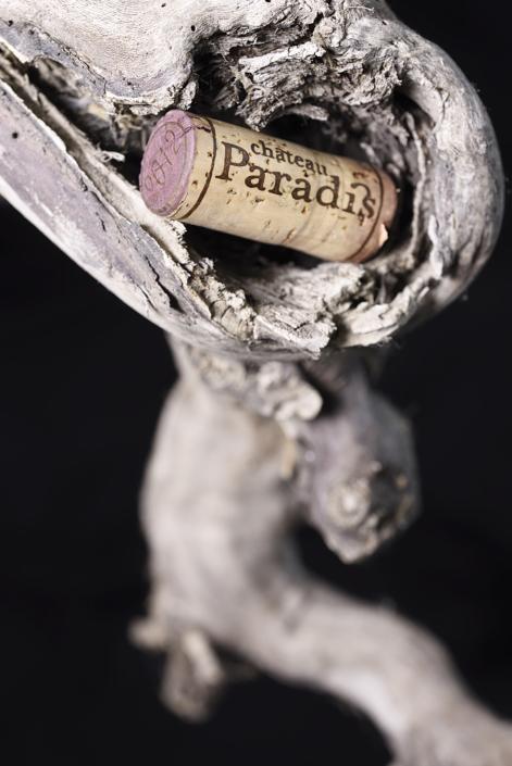 Bouchon de liège Château Paradis